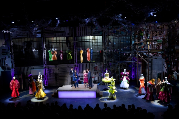 Photo Flash: First Look at Eve Ensler's O.P.C. at A.R.T.