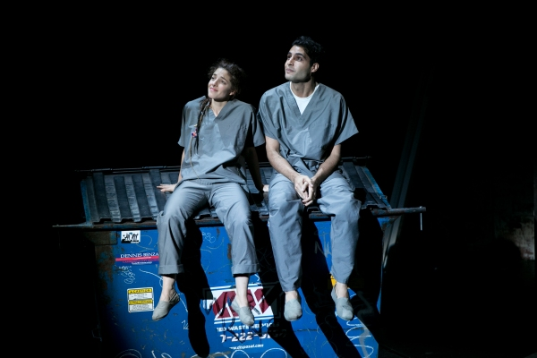 Romi (Olivia Thirlby ) and Prakash (Babak Tafti) find love. Photo