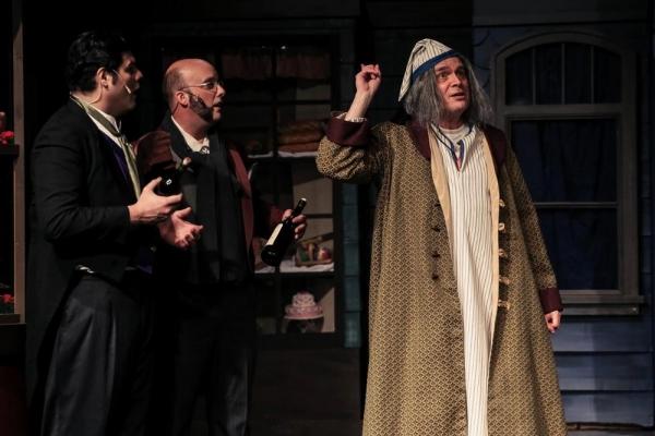 Matthew Flores (Hugo Harty), Alex Koerger (Jocelyn Jollygoode), Jeff Kingsbury (Scrooge)