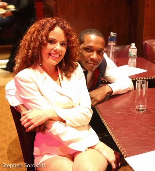 Janet Ducal & Leslie Odom Jr.