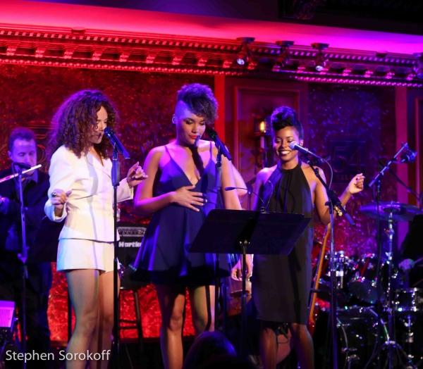 Janet Ducal, Emmy Raver-Lampman, Adrienne Warren