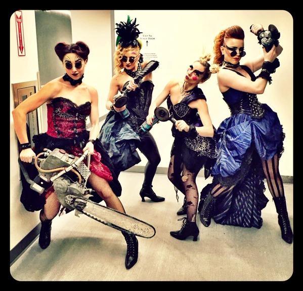 Photo Flash: Saturday Intermission Pics - Dec. 6, Part 2 - DIRTY ROTTEN SCOUNDRELS Parodies CATS, & More