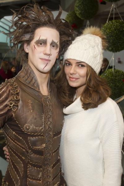 Dominic North (Edward Scissorhands) and Kara Tointon  Photo
