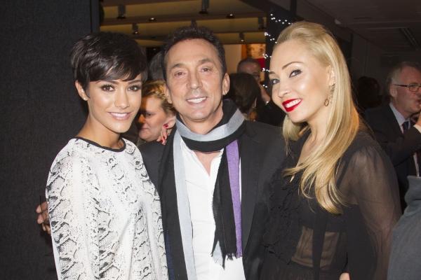 Frankie Bridge, Bruno Tonioli and Iveta Lukosiute