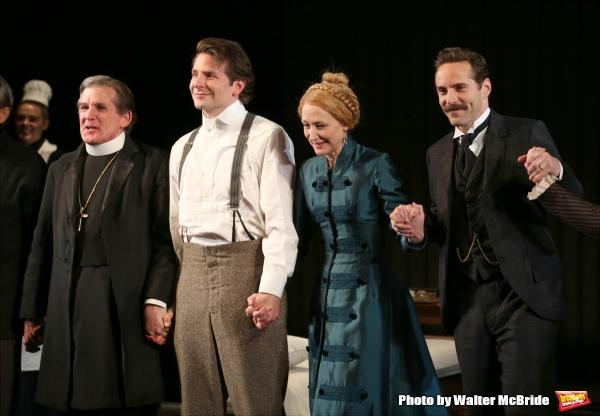 Anthony Heald, Bradley Cooper, Patricia Clarkson and Alessandro Nivola   Photo