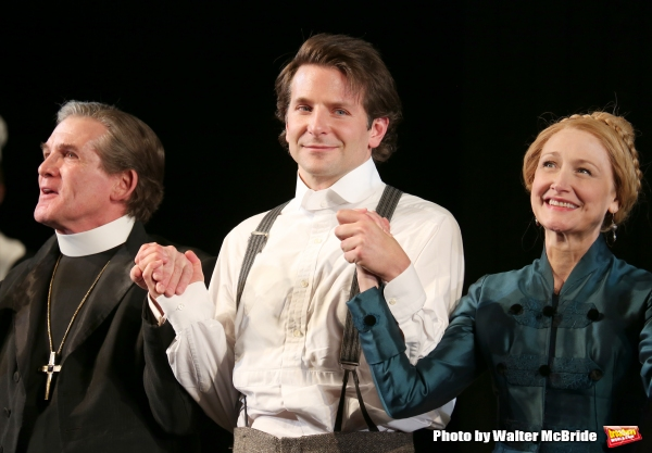 Anthony Heald, Bradley Cooper and Patricia Clarkson  Photo