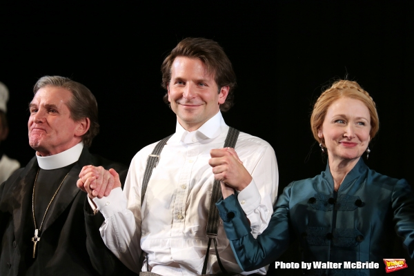 Anthony Heald, Bradley Cooper and Patricia Clarkson
