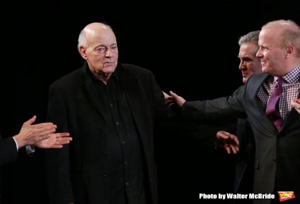 Playwright Bernard Pomerance and Anthony Heald Photo