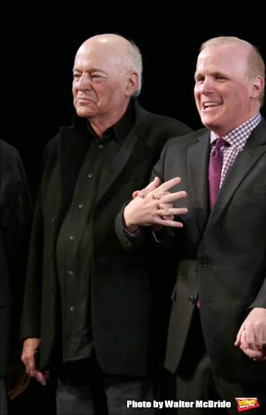 Playwright Bernard Pomerance and  Director Scott Ellis  Photo