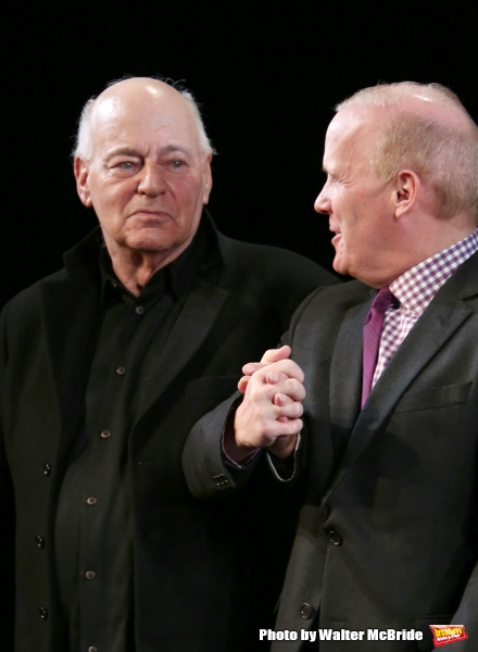 Playwright Bernard Pomerance and  Director Scott Ellis