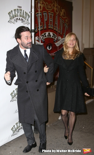 Jon Hamm and Jennifer Westfeldt  Photo