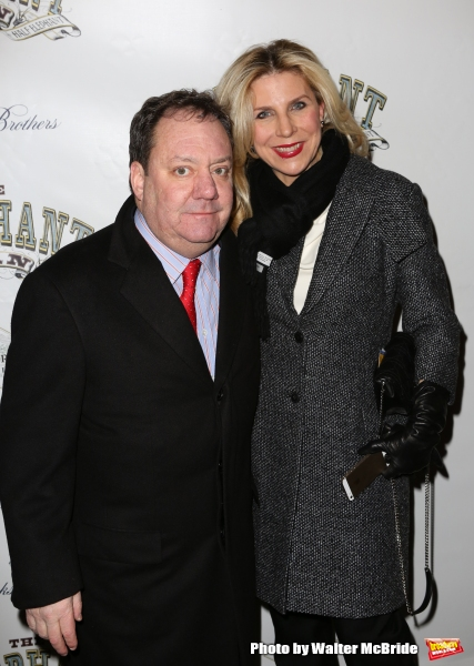 James L. Nederlander and wife Margo