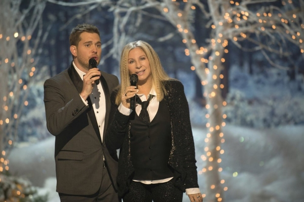 Barbra Streisand and michael buble