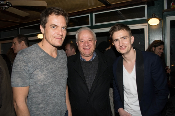 Michael Shannon, Tom Wirtshafter and Patrick Daly Photo