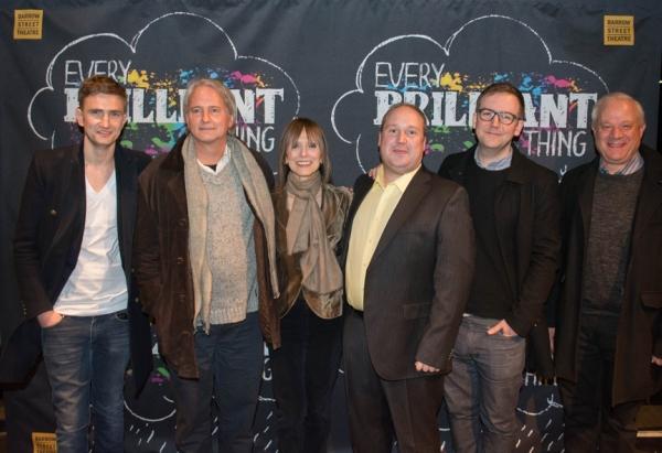 Patrick Daly, Scott Morfee, Jean Doumanian, Jonny Donahoe, Duncan MacMillan and Tom W Photo