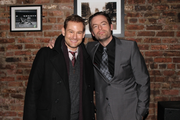 Chad Kimball and Justin Kirk