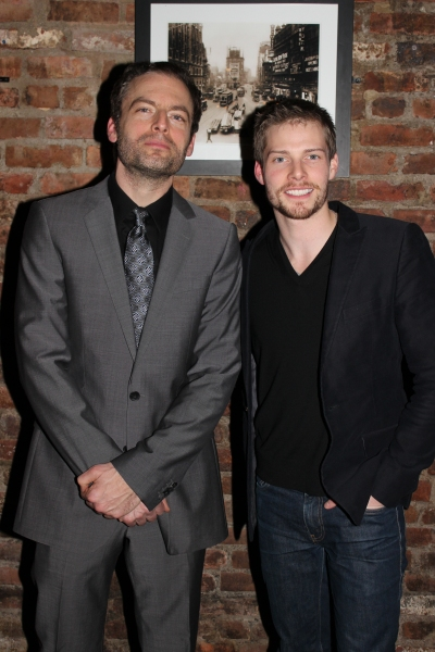 Justin Kirk and Hunter Parrish