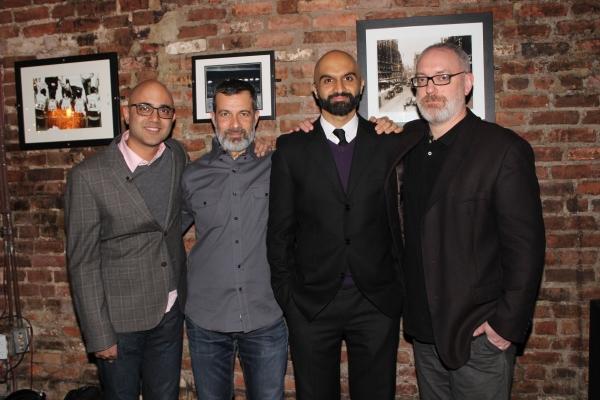 Ayad Ahktar, Dariush Kashani, Usman Ally and Ken Rus Schmoll Photo