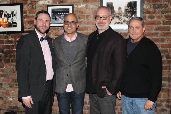Jeremy Blocker, Ayad Ahktar, Ken Rus Schmoll and Jim Nicola