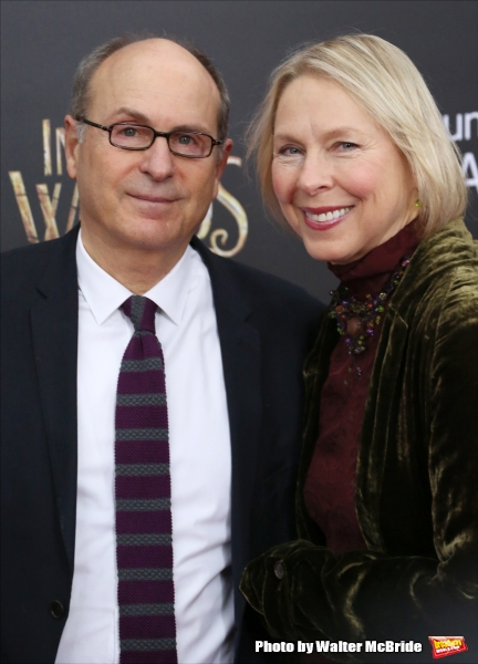 James Lapine and wife Sarah Kernochan