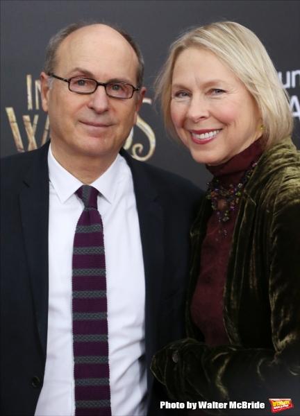 James Lapine and wife Sarah Kernochan