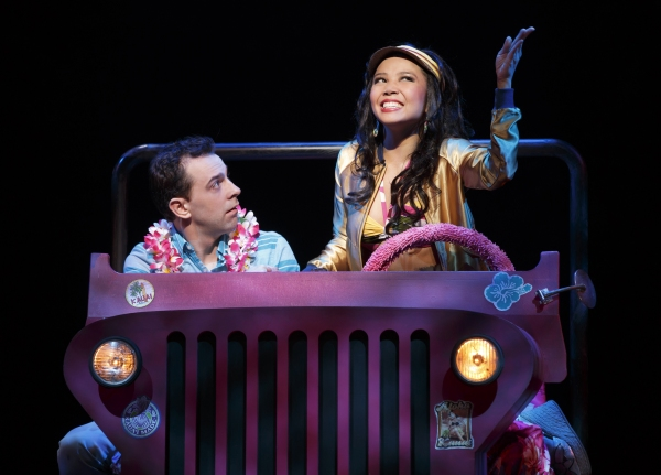 Rob McClure, Catherine Ricafort