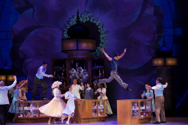 Countdown to AN AMERICAN IN PARIS in Theatres: Day Deux- Curtain Up in France!