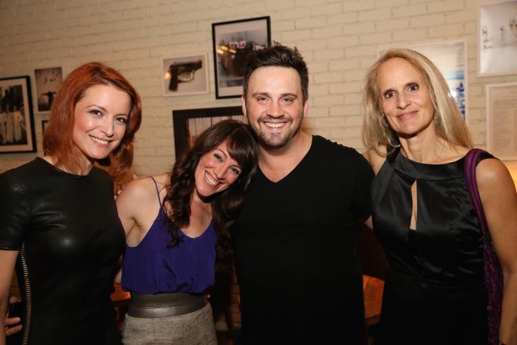High Res Jelena Stupljanin, cast member Samantha Soule, Director Daniel Talbott and cast member Wendy vanden Heuvel