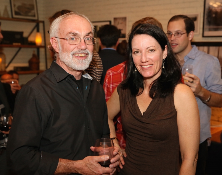 High Res David Van Asselt, Rattlestick Artistic Director and Pauline Adamek
