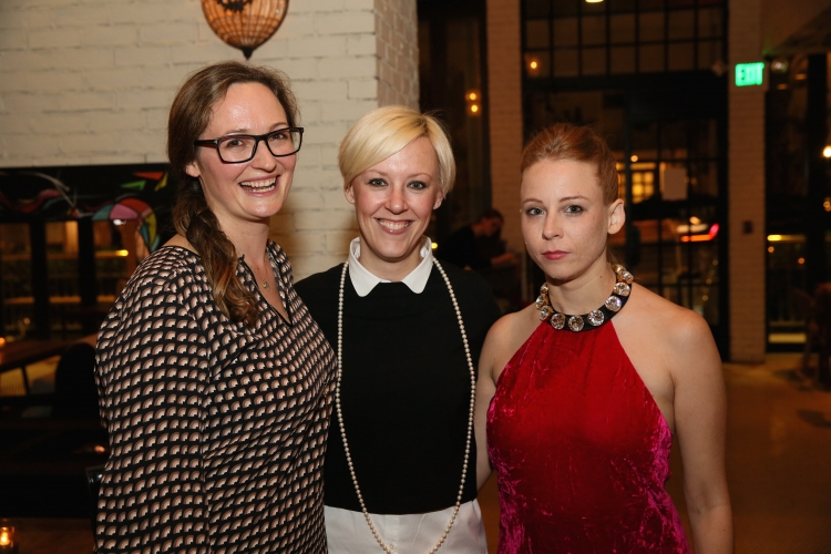 High Res Addie Johnson-Talbott, Kendra Bator and cast member Sarah Shaefer