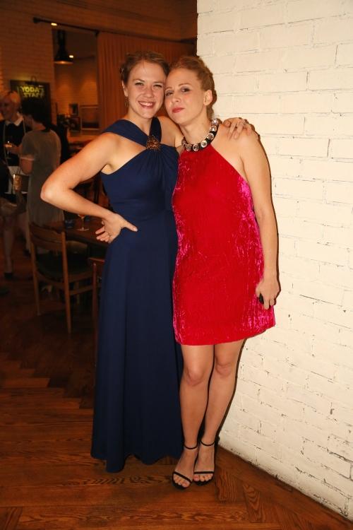 High Res Sarah Haught and cast member Sarah Shaefer