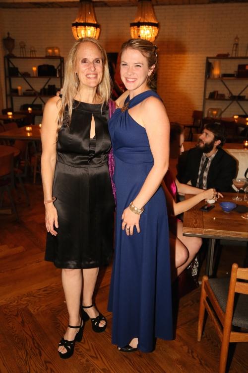 High Res Cast member Wendy vanden Heuvel and Sarah Haught
