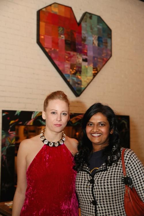 High Res Cast member Sarah Shaefer and Nalini Sharma