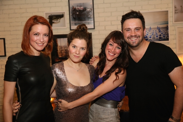 Jelena Stupljanin, Playwright Charlotte Miller, cast member Samantha Soule and Director Daniel Talbott