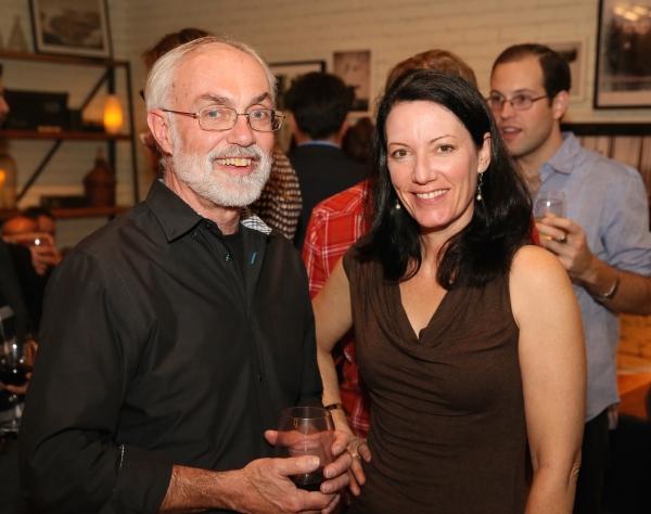 David Van Asselt, Rattlestick Artistic Director and Pauline Adamek