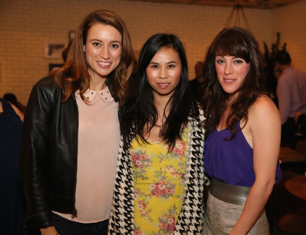 Libby Ewing, Camille Mana and cast member Samantha Soule