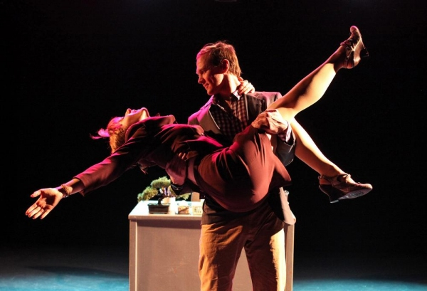 Matthew Keffer and Victoria Blade in CHASE by Michael Mahler Photo