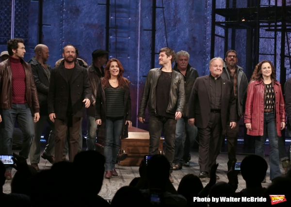 Sting with Aaron Lazar, Rachel Tucker, Michael Esper, Fred Applegate, Sally Ann Triplett and the cast