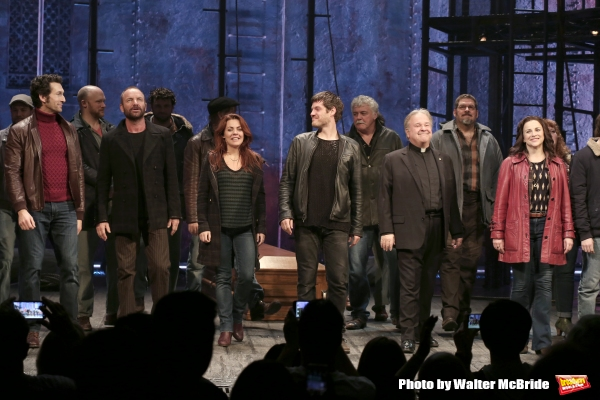 Sting with Aaron Lazar, Rachel Tucker, Michael Esper, Fred Applegate, Sally Ann Triplett and the cast