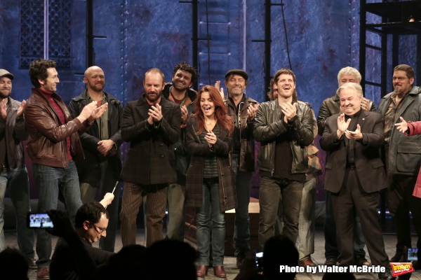 Sting with Aaron Lazar, Rachel Tucker, Michael Esper, Fred Applegate and the cast
