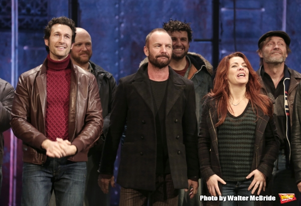 Sting with Aaron Lazar, Rachel Tucker and the cast