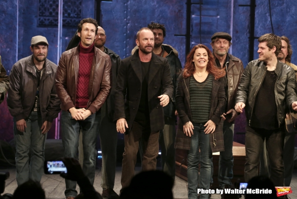 Sting with Aaron Lazar, Rachel Tucker, Michael Esper and the cast