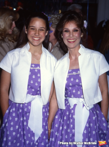 Mary Ann Mobley and daughter Clancy on September 16, 1981 in Los Angeles, California Photo