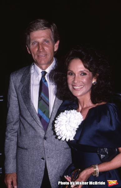 Gary Collins and Mary Ann Mobley on September 1, 1988 in Los Angeles, California.