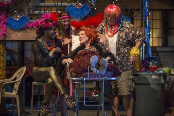 member K. Todd Freeman (Sissy Na Na), Kate Buddeke (Tanya), Judith Roberts (Miss Ruby) and Scott Jaeck