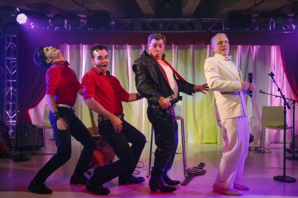 Alex Boniello, James Barry, Damian Baldet, Larry Tobias Photo