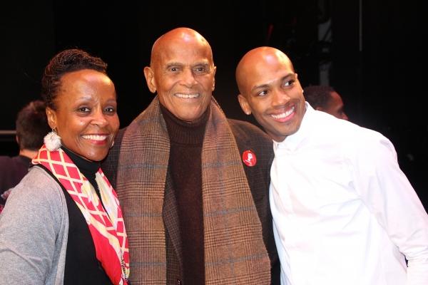 Photo Flash: Harry Belafonte, Laverne Cox and More Attend Alvin Ailey's ODETTA Premiere