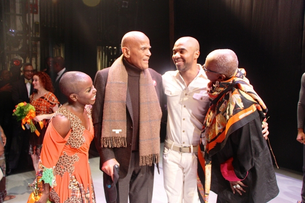 Hope Boykin, Harry Belafonte, Matthew Rushing and Judith Jamison