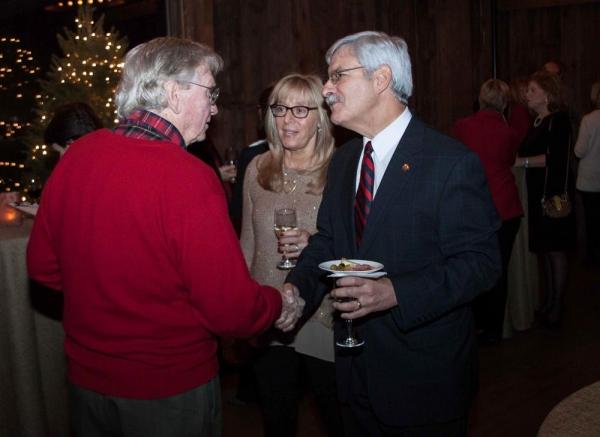 David Bray, Joanne Filipo and Frank Filipo