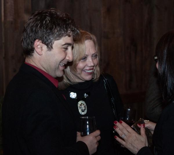Scott Schwartz, Barbara Kushner and Debra Albert